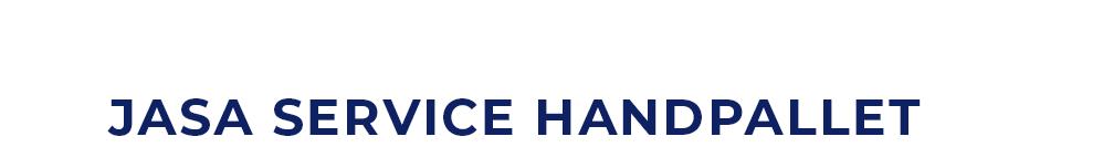 Jasa Service Hand Pallet